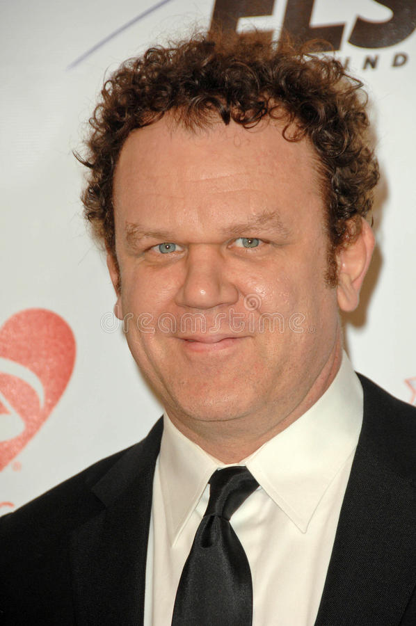 John C Reilly, Neil Young stock foto