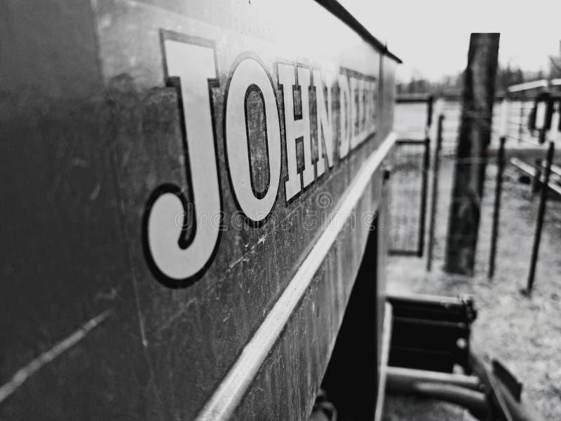 John Deere royalty-vrije stock foto