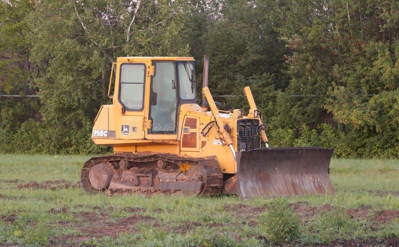 John Deere Bulldozer stock image