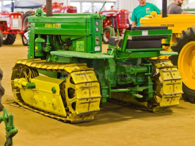 John Deere de Tractor van het Kruippakje royalty-vrije stock foto
