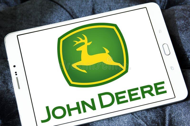 John deere embleem royalty-vrije stock afbeelding