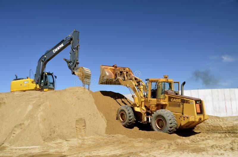 John Deere Heavy Equipment arkivfoto