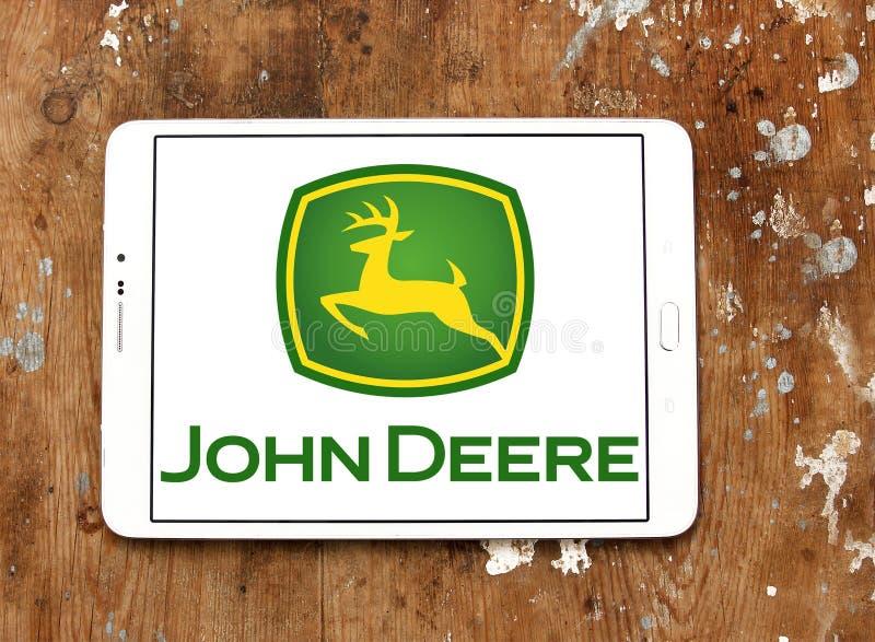 John deere logo stock images