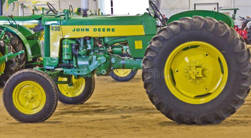 John Deere Model 430 Utility Tractor stock photos