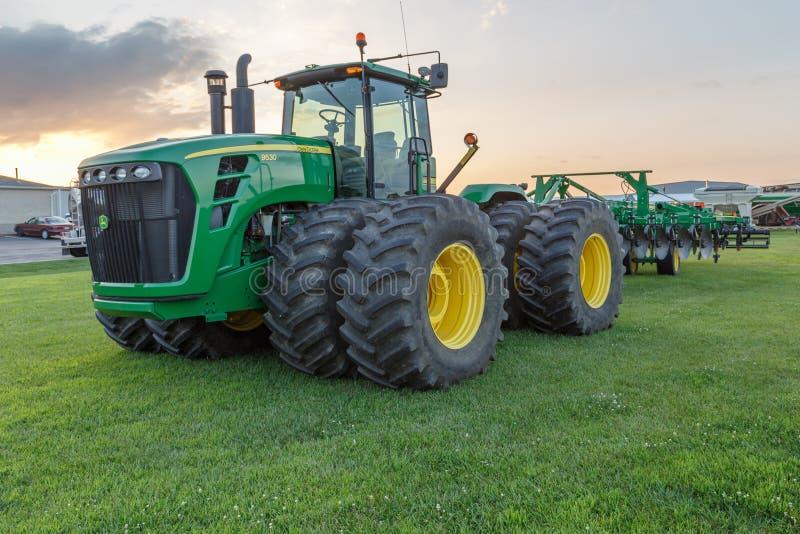 John Deere Model 9530 Tractor royalty-vrije stock afbeelding