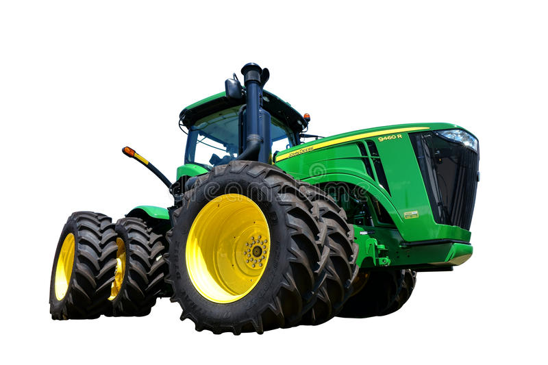 Agricultural Machinery Parts Wheel Gear : John deere r agriculture tractor editorial photo