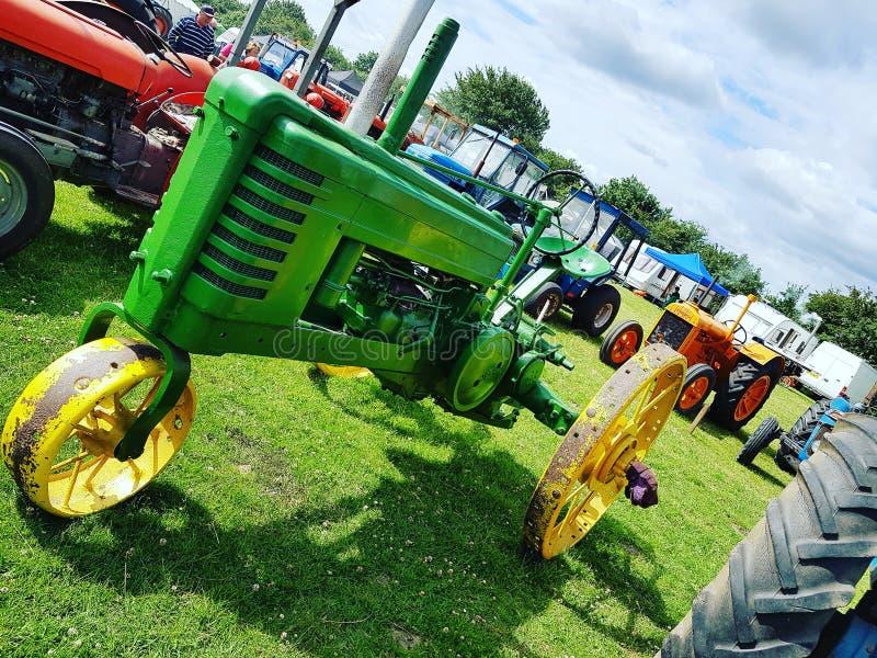John Deere Tractor stock afbeeldingen