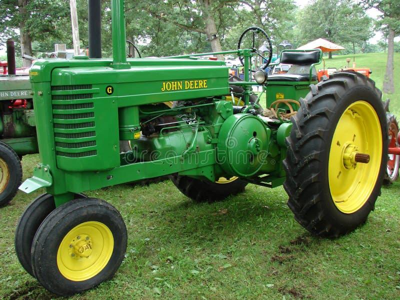 John Deere Tractor stock foto's