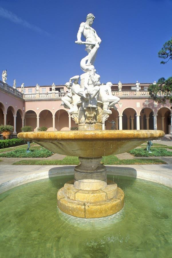 John e Mabel Ringling Museum di arte, Sarasota, Florida immagine stock libera da diritti