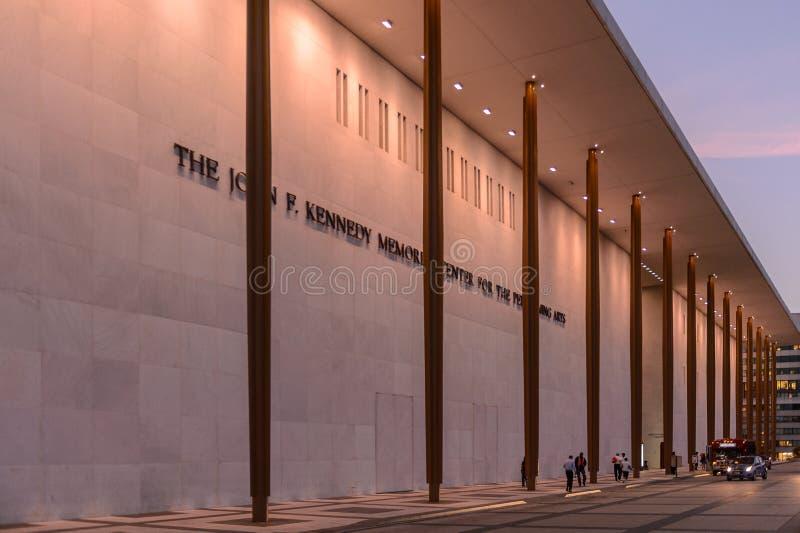 John F Centre de Kennedy pour les arts du spectacle photographie stock