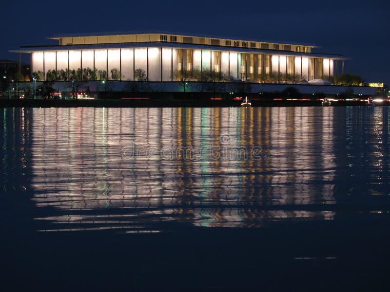 John F. Kennedy Center-Night royalty free stock image