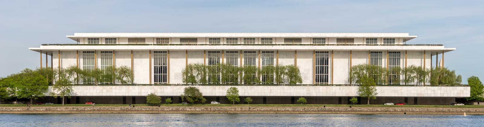 John F. Kennedy Center for the Performing Arts in Washington DC royalty free stock photography