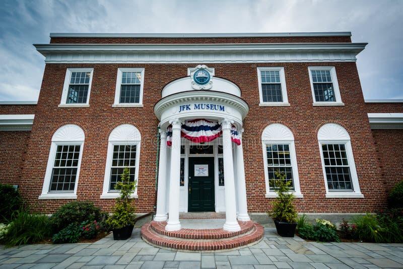John F Kennedy Museum, dans Hyannis, Cape Cod, le Massachusetts images libres de droits