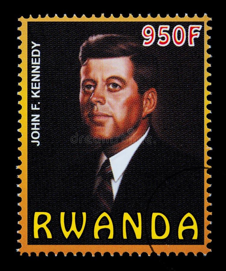 John F Kennedy Postage Stamp imagens de stock royalty free