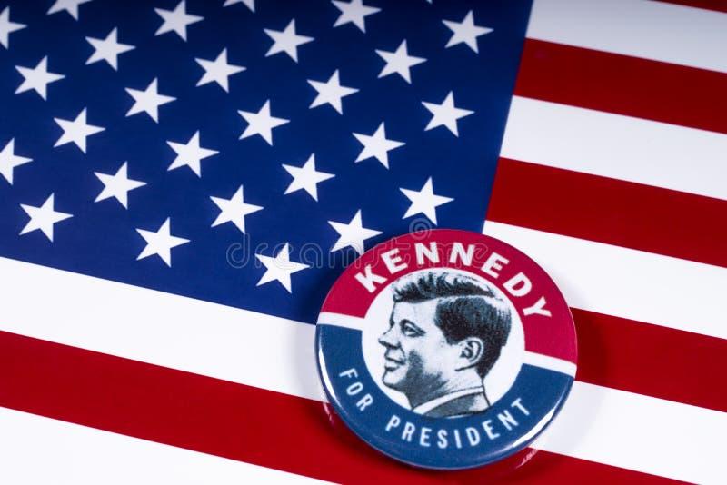 John F. Kennedy pour le président des USA image libre de droits
