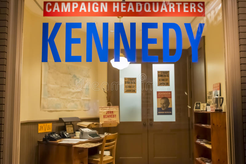 John F Kennedy Presidential Library stock foto
