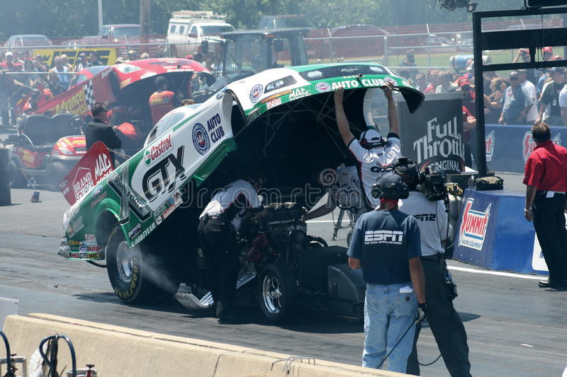 Download John Force Funny Car editorial image. Image of sports - 21143360