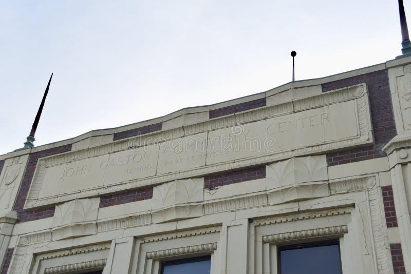 John Gaston Community Center, Memphis, TN imagenes de archivo