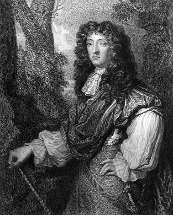 John Graham, 1st Viscount Dundee. John Graham, 1st Viscount of Dundee (1648-1689) on engraving from 1831. Scottish soldier and nobleman, a Tory and an royalty free stock images