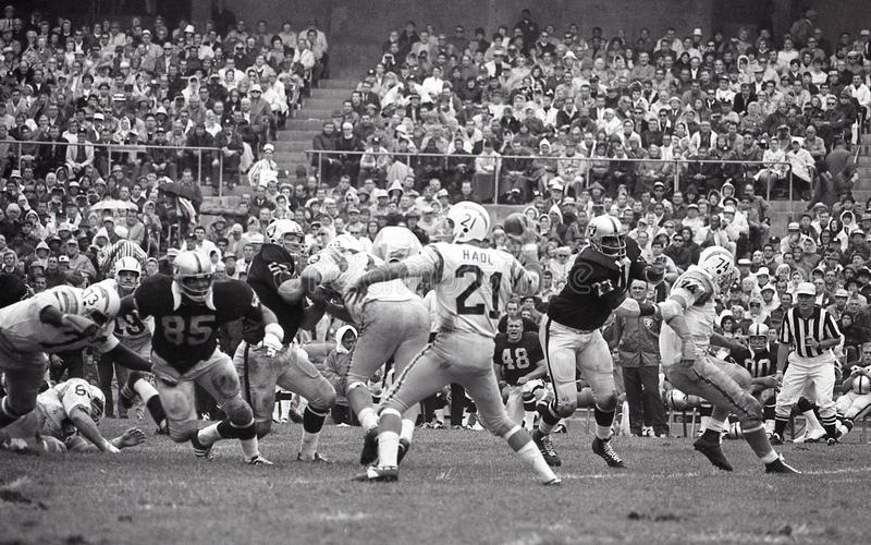 John Hadl QB av Sanen Diego Chargers arkivfoto