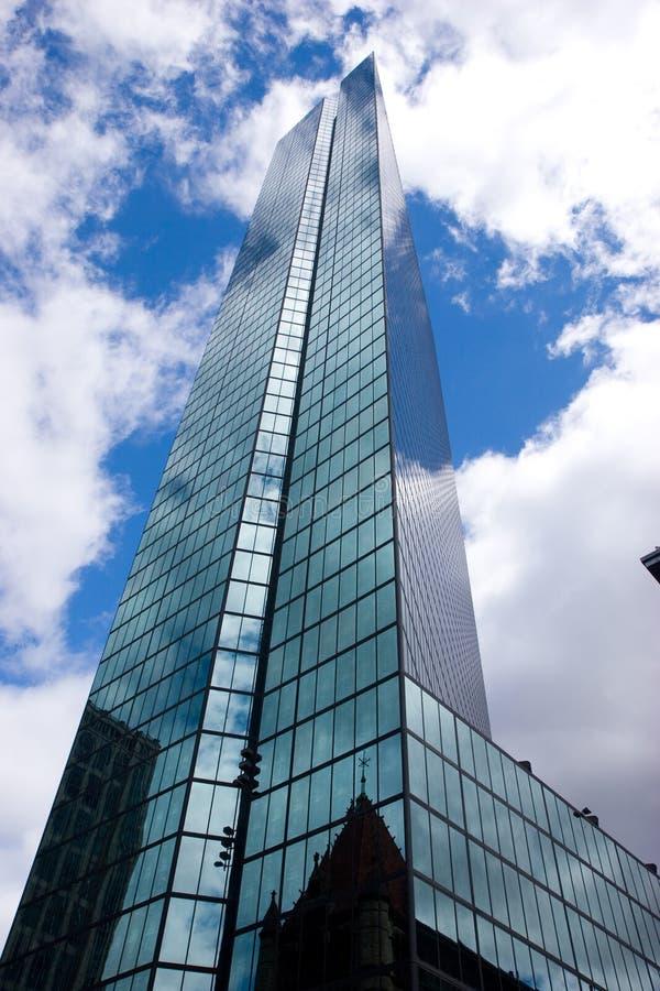 John hancock tower fotografia royalty free