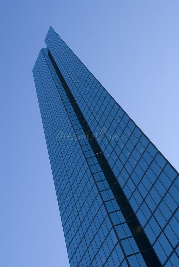 John Hancock Tower Boston. The John Hancock Tower in Boston, MA, USA on a clear sunny day royalty free stock image