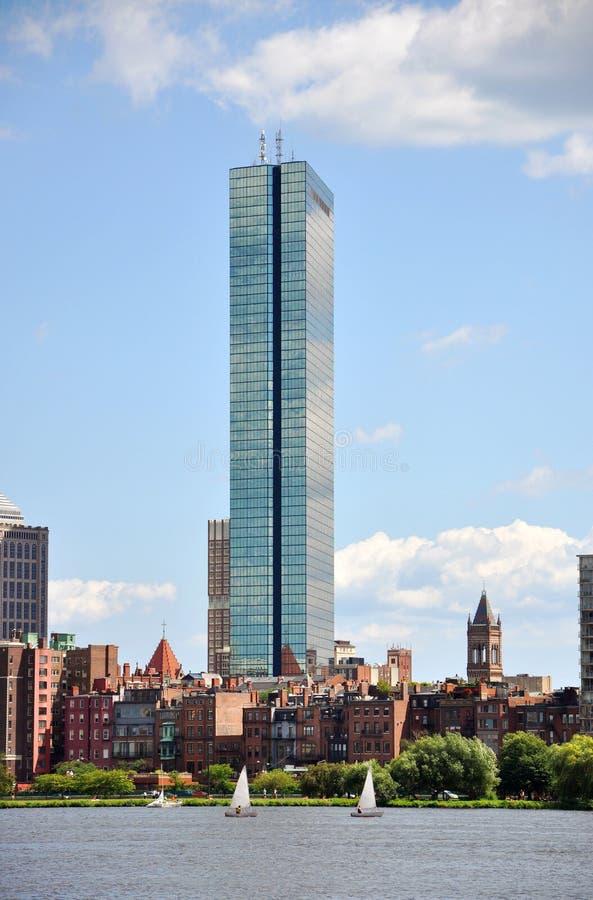 Free John Hancock Tower In Back Bay, Boston Stock Image - 20741461