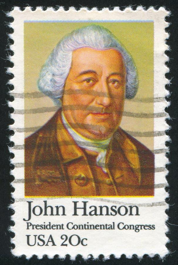 John Hanson zdjęcie royalty free