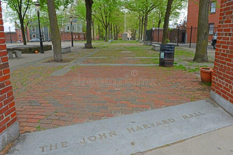 John Harvard Mall en Charlestown, Boston, mA, los E.E.U.U. foto de archivo