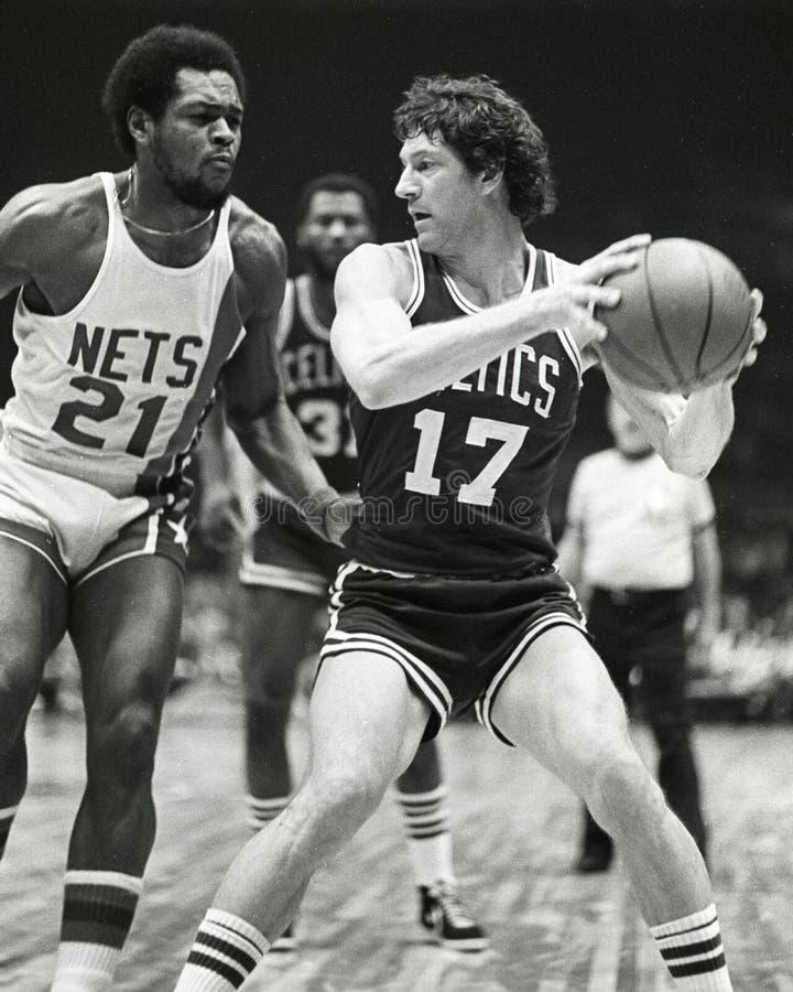 John Havlicek, Celtics de Boston imagen de archivo