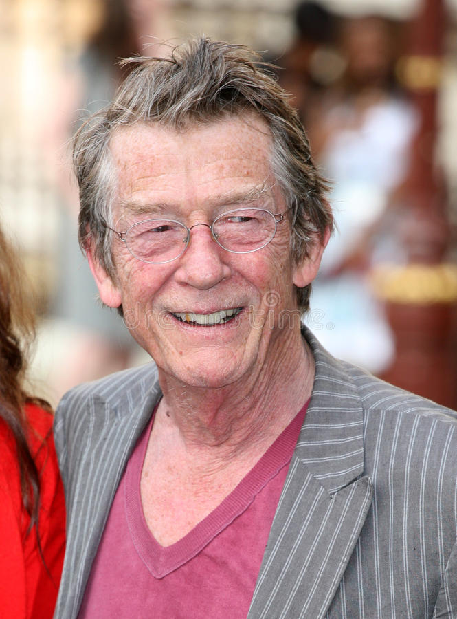 John Hurt royalty-vrije stock fotografie