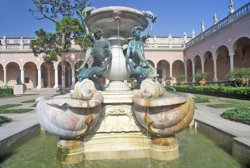 John i Mabel Ringling muzeum sztuki, Sarasota, Floryda fotografia royalty free