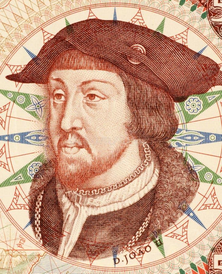John II van Portugal royalty-vrije stock afbeeldingen