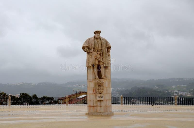 John III, alcunhado o ` o ` falso e o ` o ` do colono, era o rei de Portugal e de Algarves desde 1521 até sua morte imagens de stock