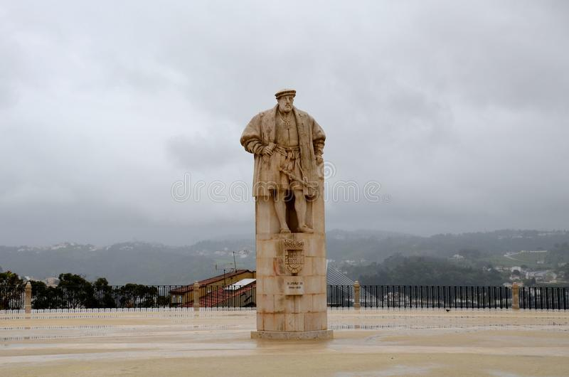 John III som ge någon ett smeknamn ` den fromma `en och ` nybyggare`en, var konungen av Portugal och Algarves från 1521 till hans arkivbilder