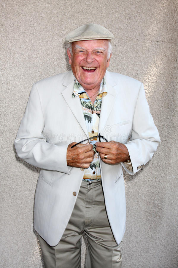 John Ingle. Arriving at the General Hospital Fan Club Luncheon at the Airtel Plaza Hotel in Van Nuys, CA on July 18, 2009 stock image