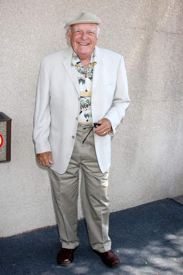 John Ingle. Arriving at the General Hospital Fan Club Luncheon at the Airtel Plaza Hotel in Van Nuys, CA on July 18, 2009 royalty free stock images