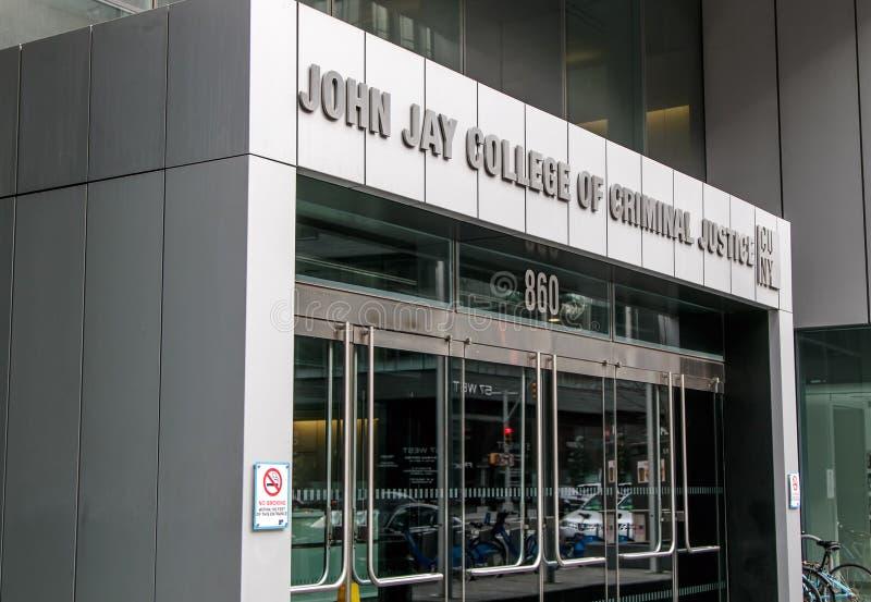 John Jay College van Strafrecht royalty-vrije stock foto