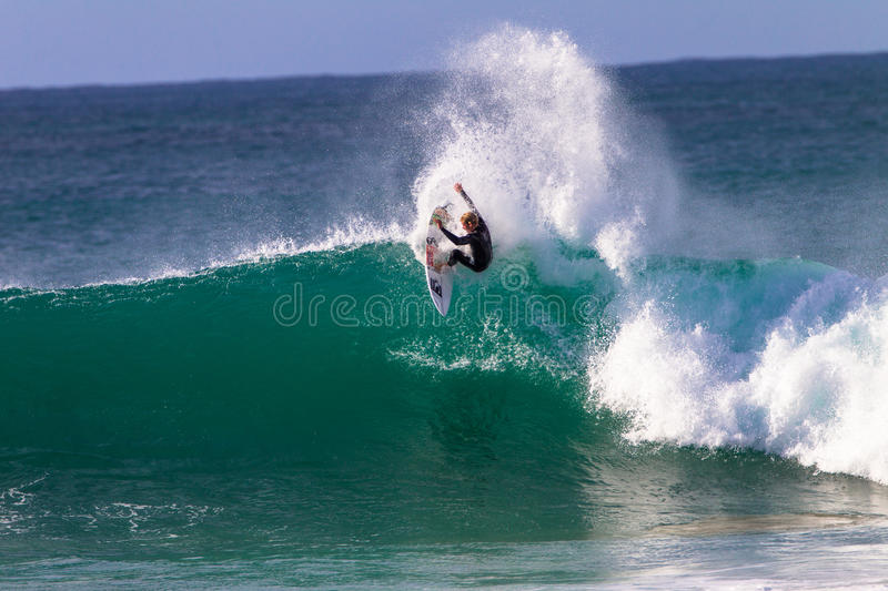 Download John John Florence Surfing Action Editorial Stock Photo - Image: 25946353