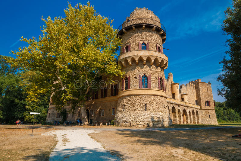 JOhn kasteel royalty-vrije stock fotografie