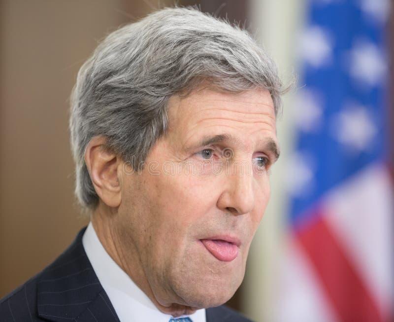 John Kerry lizenzfreie stockbilder