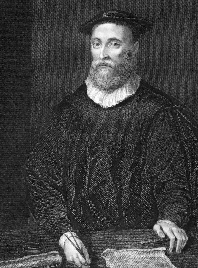 John Knox imagens de stock