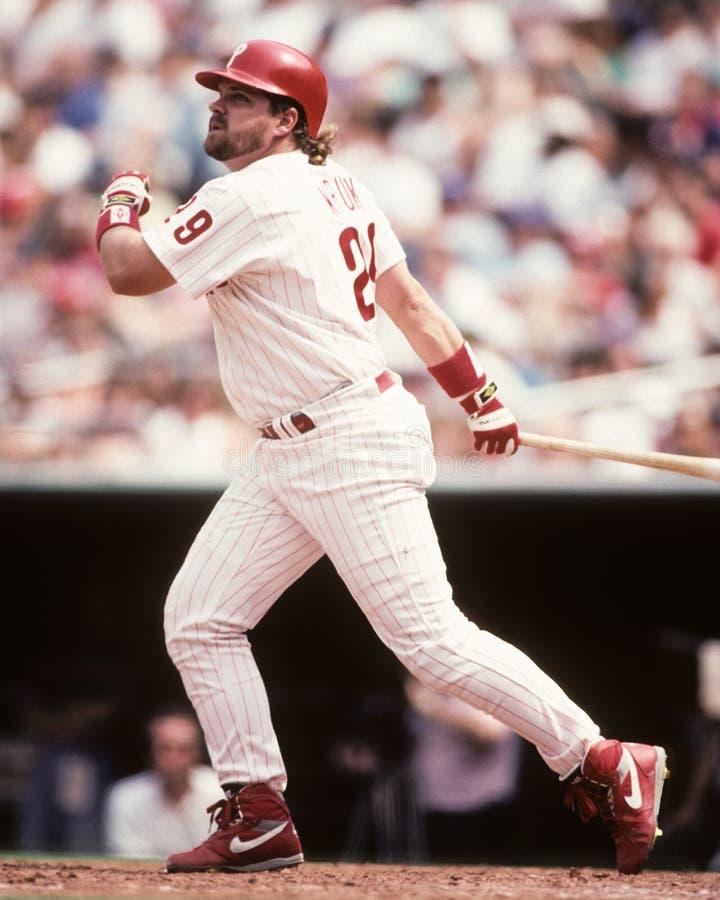 John Kruk. Philadelphia Phillies 1B John Kruk. (Image taken from color slide royalty free stock photos