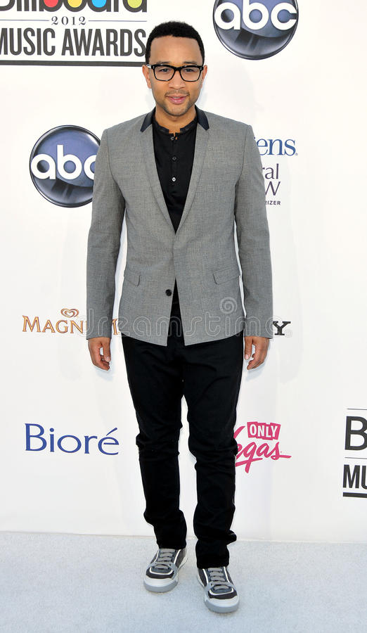 John Legend arrives at the 2012 Billboard Awards. LAS VEGAS - MAY 20: John Legend arrives at the 2012 Billboard Awards at MGM Garden Arena on May 20, 2012 in Las stock photos