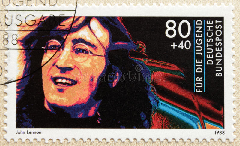 John Lennon royalty free stock photo