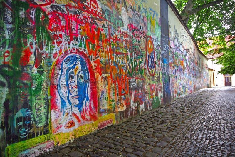 John Lennon Wall stockfotos