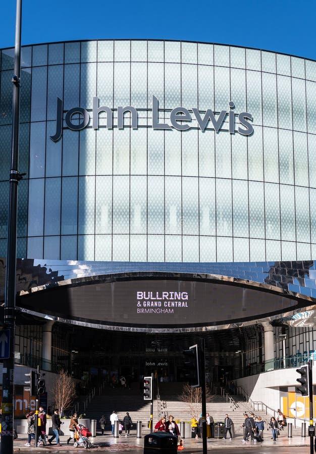 John Lewis Birmingham royalty free stock images