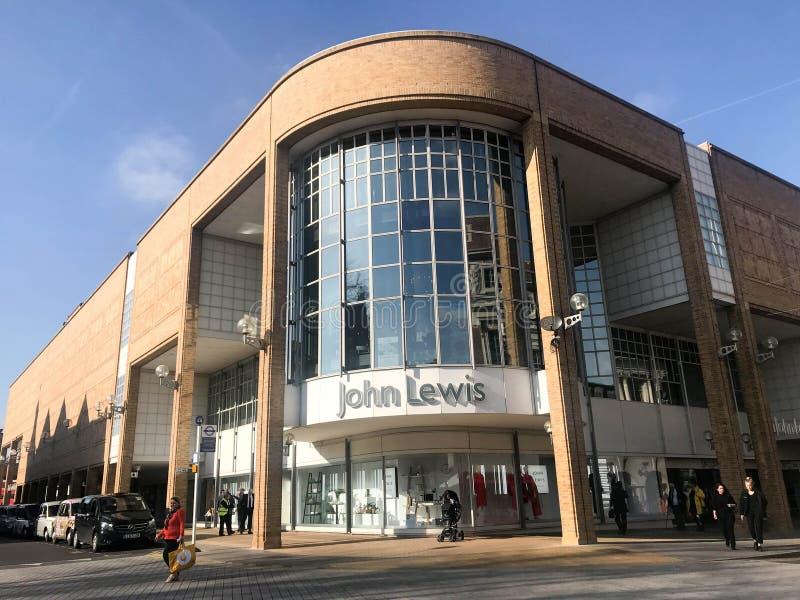 John Lewis store royalty free stock image