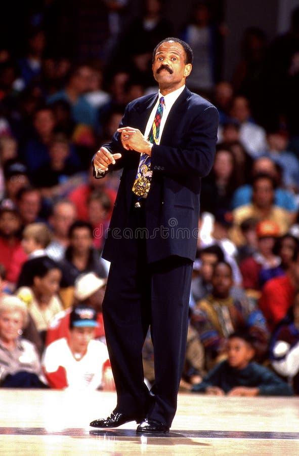 John Lucas. NBA head coach and former player John Lucas. Image taken from color slide stock images