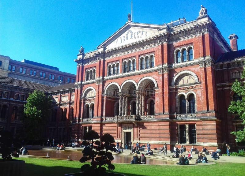 John Madejsky ogród - V&A muzeum Londyn obrazy royalty free